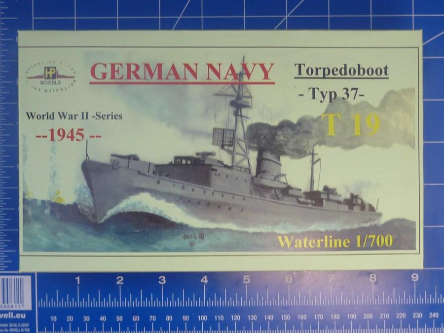 """Niederländisches Torpedoboot  /""""Z-7/"""" 1940//43 HP Models 1:700 Waterline"""