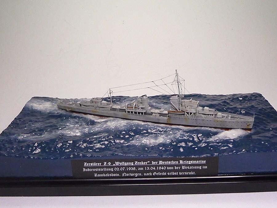 3 Brücke Bausatz für Schiffsmodelle 1:700 scale